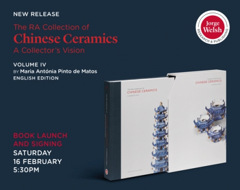 New Release: The RA Collection of Chinese Ceramics. A Collector's Vision Volume IV