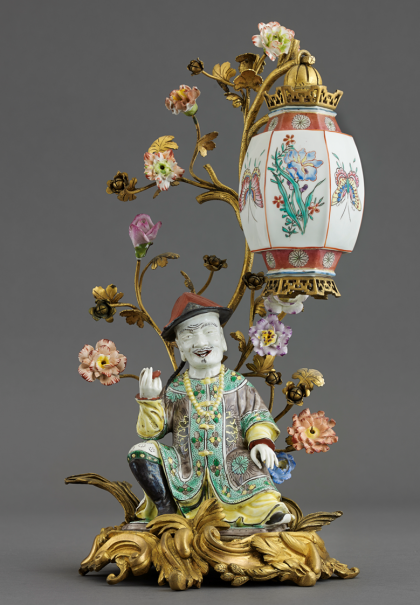 Chinese with Lantern, Porcelain of Meissen, 18th century. © Villa Ephrussi de Rothschild, photography by François Fernandez
